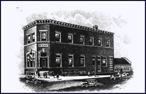 The Myton State Bank, erected in 1909.