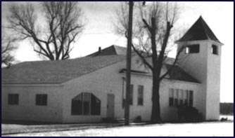 Our learning center was first housed in the old-fashioned looking Myton Presbyterian Church.