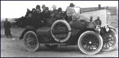 First mail and Stage Car used in Myton